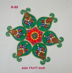 Small Kalash Rangoli