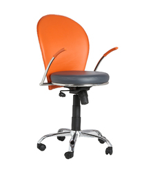 Orange Grey Task Chair