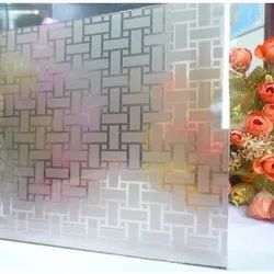 Acid Texture Glass, Thickness: 2-5 Mm