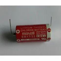 ER 17/33 Maxell  Lithium Battery