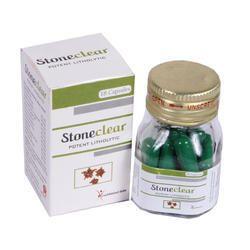 Stoneclean石清澈阿育吠陀胶囊,包装类型:罐子