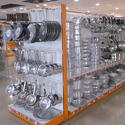 Crockery Display Shelves