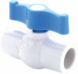 JK UPVC Ball Valve (Plain)