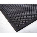 Electrical Black Checkered Mats