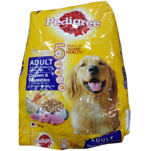 Pedigree Adult Dog Food Chicken Packaging Type Packet Rs 230