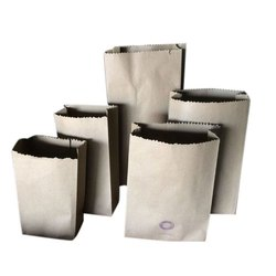 Plain Brown Paper Bag, For Grocery, Capacity: 5kg