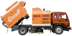 Truck Sweeper For Runway