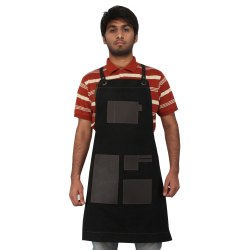 Buffalo Leather Unisex Stylish and Functional Kitchen Apron