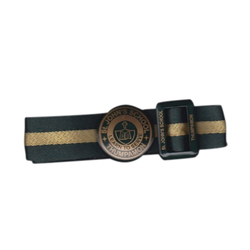 Round Buckle School Belt