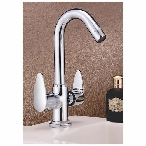 Vignette Chrome Plated Swan Neck Water Tap