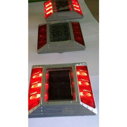 Red Solar Road Stud
