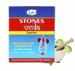 Stones Veda Capsules (for Kidney Stones)