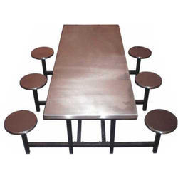 Rupnath Enterprises 6 Seater Canteen Table