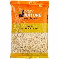 Pro Nature Roasted Chana Dal, Packaging Type: Packet