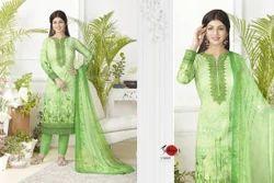 Green Full Sleeve Suhati Salwar Suit
