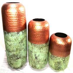 Iron Flower Vase Set