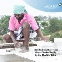 Concrete Roof Tiles- White Feet