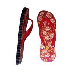Superlite Ladies Rubber Slipper, Size: 4-7