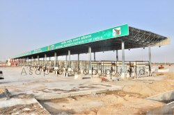 Toll Plaza Structure