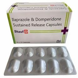 Ilaprazole and Domperidone Sustained Release Capsules
