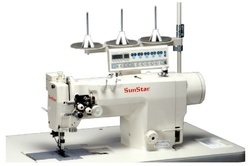 Direct Drive, High-speed,2-needle, Needle Feed Machine