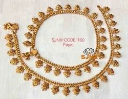 5591c46bf7d00f Gold Plated Anklet at Best Price in India