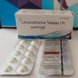 Leesten Levocetirizine Tablets I.P, Packaging Type: Box