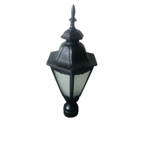 Bristo Lamp Shades Black Outdoor Floor Gate Light, Size/dimension: W24.5*e23*h53cm