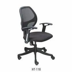 Low Back Black Mesh Chair