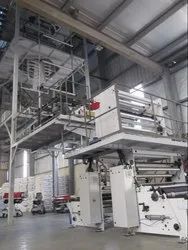 2 Layer HDPE Co-Extrusion Blown Film Plant