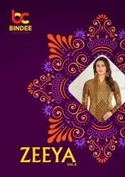 Bindee Zeeya Vol-9 Printed Cotton Dress Material Catalog Collection