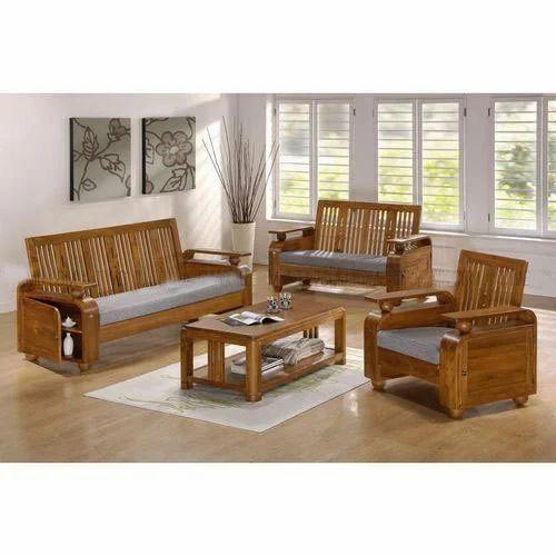 Sofa Set Size: Teak Wood Sofa Set, Size/Dimension: 5.3, Rs 32000 /set