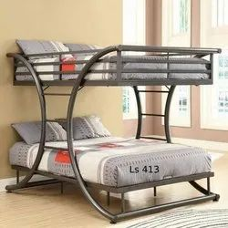 SS Double Type Cot Bed