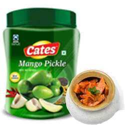 Mango Pickle, Packaging Size: 500 G