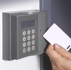 Biometric Card Reader System