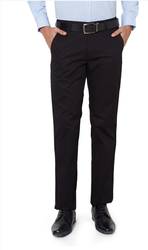PTF1041601284 Peter England Black Trousers