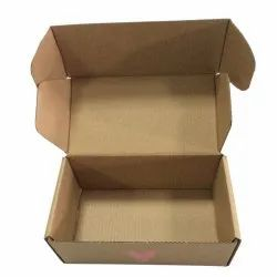 Single Wall - 3 Ply Rectangle Corrugated Box, for packaging