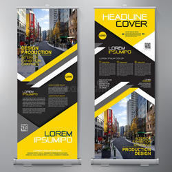 Roll Up Display Stands
