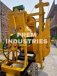 Mixture Machine With Lift