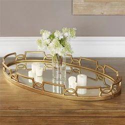 Glass Tray, Size: 32 X 18 X 4 Inch