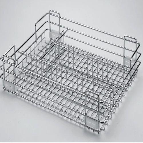 stainless steel kitchen basket rs 285 kilogram asha kitchen id rh indiamart com stainless steel basket for kitchen sink steel basket for kitchen online