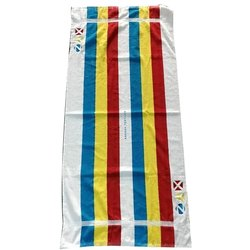 Cotton Aakash Towels Embroidery Towels, Size: 70x140 inch