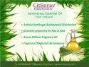 Pure natural lemongrass oil