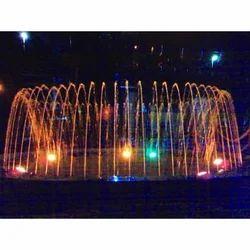 Crown Lighting Fountain