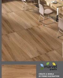 Matt Marvel Wooden Bedroom Tiles, Available Size: 60x120 Cm, 60 * 120 cm