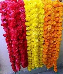 Artificial Marigold Garlands