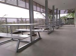 6 Seater Cafeteria Table