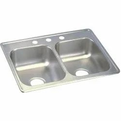 20x45 Inch Double Bowl Undermount Kitchen Sink