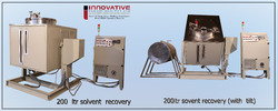 Solvent Recycling Cleaning Solvent Distillation Unit-600Ltr