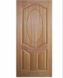 3 Panel Teak Wood Moulded Door